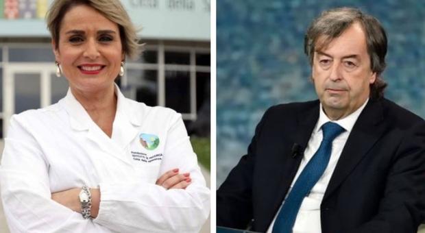 Vaccini italiani, Antonella Viola: «Li possiamo produrre noi». Burioni: «Ritardo intollerabile»