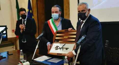 Ferrara, chiavi della città al capo della Polizia Lamberto Giannini