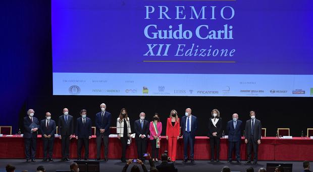 Premio Guido Carli ai talenti della rinascita, 14 riconoscimenti a personalità dell'imprenditoria, dello sport e della solidarietà