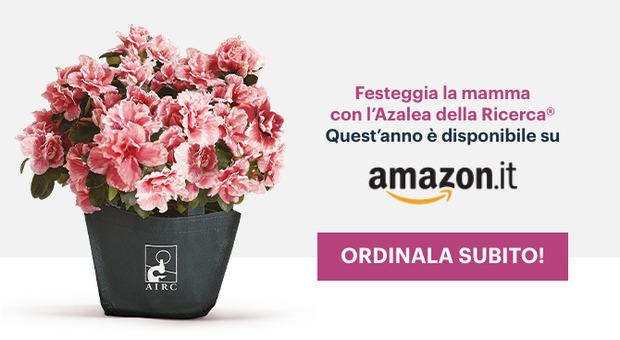 Festa della Mamma 2021, l'Azalea della Ricerca Airc anche su Amazon