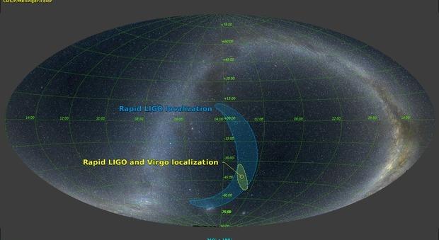 Onda gravitazionale captata per la prima volta dall'Italia