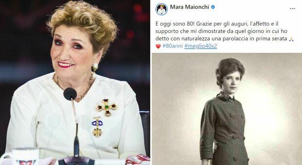 Mara Maionchi compie 80 anni