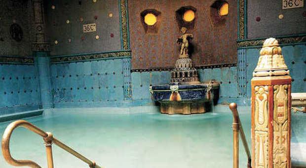 Bagni Termali Gellert : La regina delle acque: budapest e le sue terme