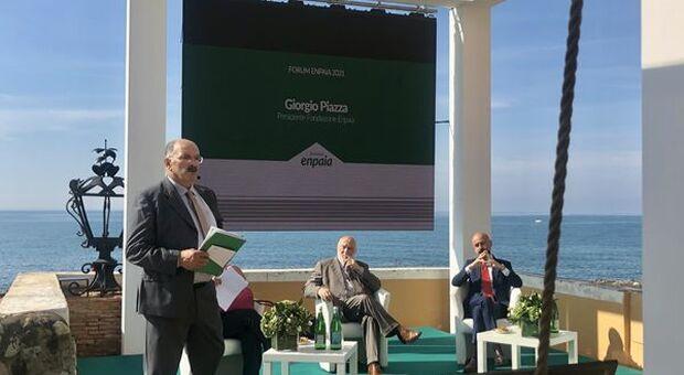 """Forum Enpaia 2021, Piazza: """"Uso corretto dell'acqua e innovazione pilastri cambiamento epocale in agricoltura"""""""