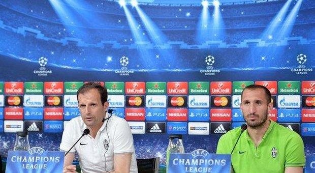 Juve pronta per la prova Monaco. Chiellini: «La sconfitta di Parma non inciderà». Allegri: «Sarà più dura di Dortmund»