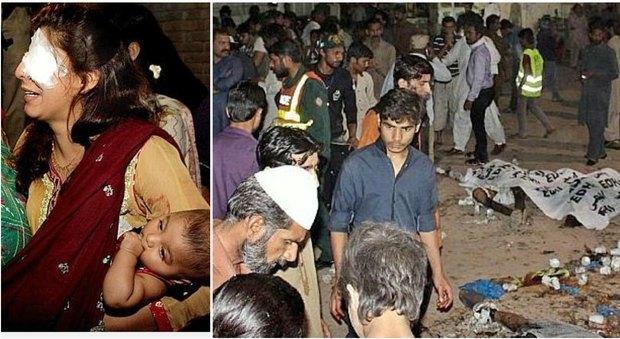 Pakistan, strage di Pasqua al parco dei bambini: kamikaze si fa esplodere, 69 morti
