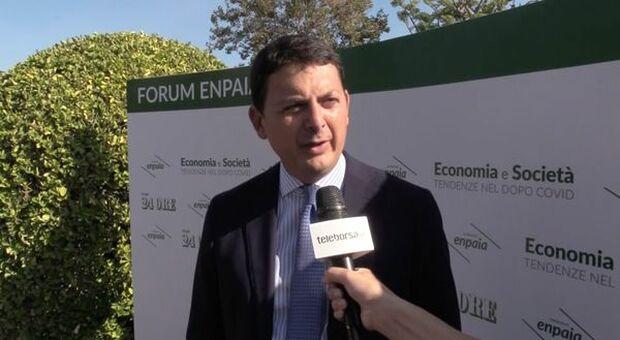 """Forum Enpaia 2021, Diacetti: """"Casse di previdenza strategiche per la ripresa"""""""