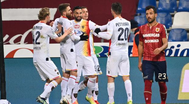 L'Empoli pareggia anche con il Cittadella. Reggiana-Lecce da record, 1-11 globale. Coda e Mancuso capocannonieri