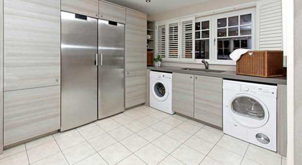 Lavanderia in casa comoda e funzionale