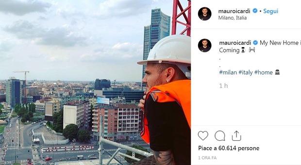 Icardi da Milano non si muove: ecco la sua nuova casa. «My new home is coming»