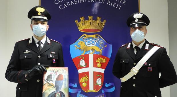 I Carabinieri presentano il calendario e agenda storica 2021