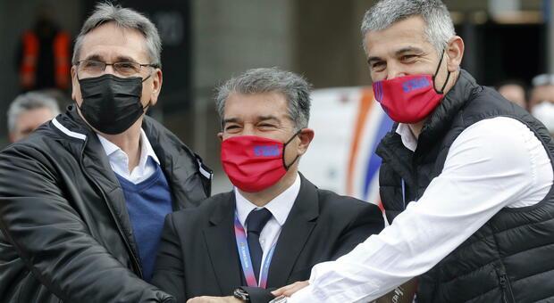 Barcellona, Laporta è il nuovo presidente: torna in carica 11 anni dopo