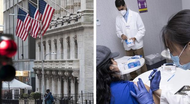 Vaccini, da oggi a New York somministrazioni a chi ha 30 anni. Dal 6 aprile via libera anche agli over 16