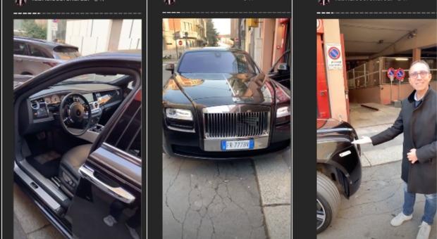 Fabrizio Corona compra una Rolls Royce e l'autista Gianni reagisce così