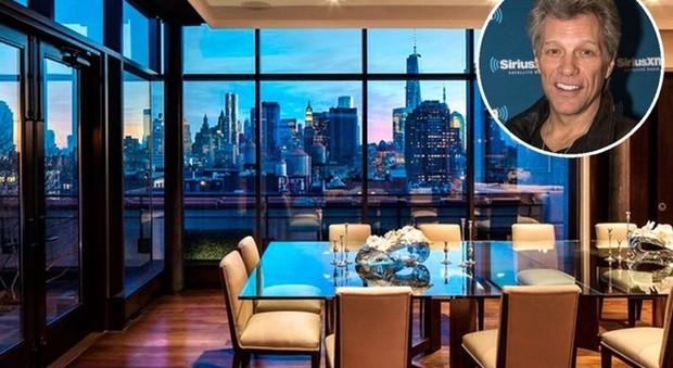 L 39 attico di bon jovi a new york torna in vendita vista e for Attico new york vendita