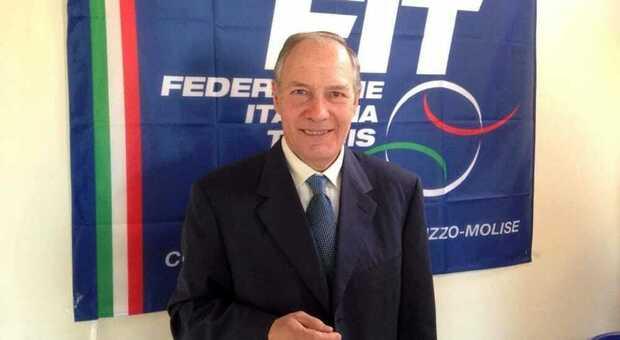 Il rieletto presidente Luciano Ginestra