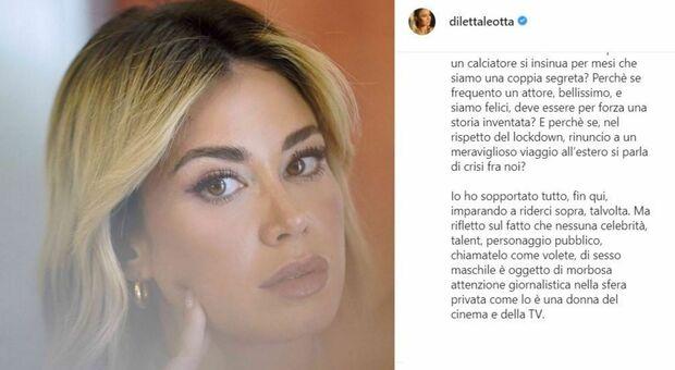 Diletta Leotta, lo sfogo sui social: «Perché una donna non può avere amici, ma sempre e solo amanti?»