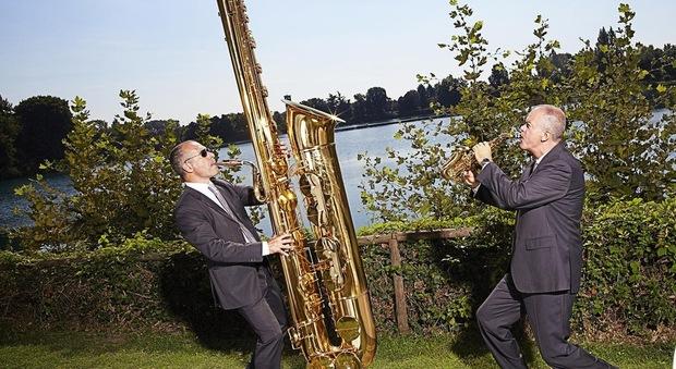 Il Sax più grande del mondo in esposizione al Museo del Sax di Fiumicino