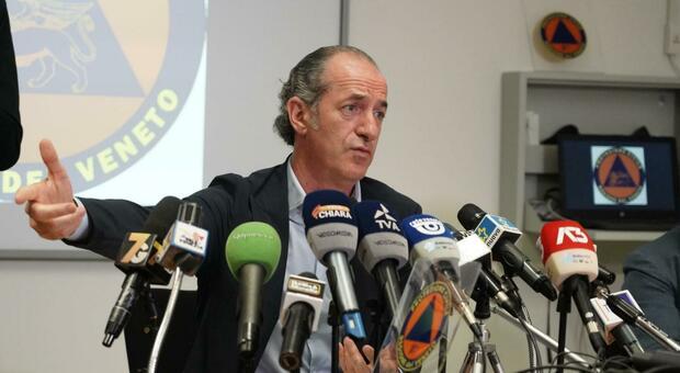 Zaia attacca il Governo sul Dpcm: «Con queste misure i contagi non scenderanno»