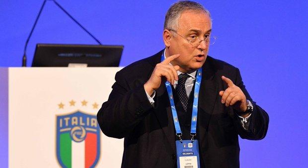 Lega Serie A, Lotito sbatte contro i riformisti