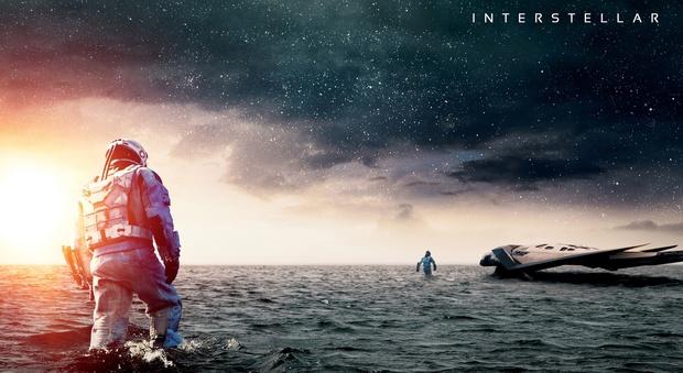 Una scena del film Interstellar