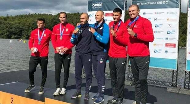 Mondiali di canoa di Copenaghen: oro per Santini e Craciun delle Fiamme Oro di Sabaudia nel C2 500 metri