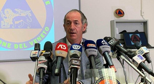 Luca Zaia: «Spostamenti tra comuni, governo ci ripensi. La montagna? Vive una tragedia»