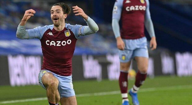 """I compagni """"spoilerano"""" l'infortunio di Grealish: l'Aston Villa vieta il fantacalcio ai suoi giocatori"""