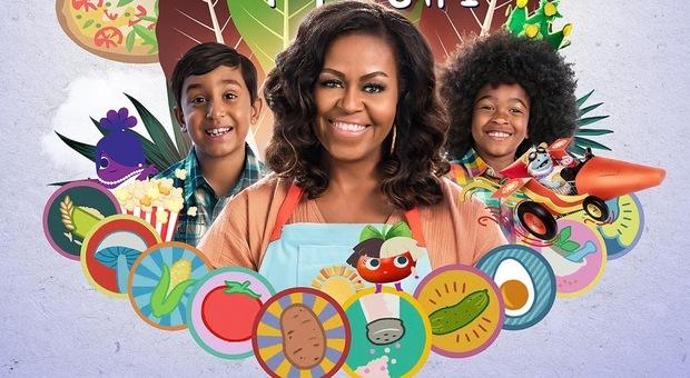 La serie Netlix Waffles + Mochi con Michelle Obama