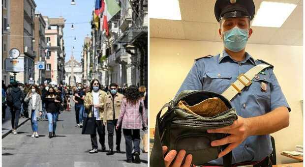 Roma, si fingono tifosi di Euro2020 e con un borsello schermato rubano nei negozi del Centro: due arresti
