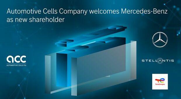 Stellantis, Mercedes nuovo partner di ACC per batterie