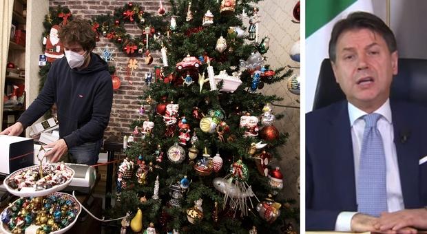 Covid, il premier Conte: «Sia un Natale più sobrio o la curva si impenna: sarebbe una follia»