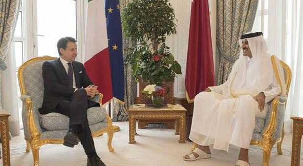 Teleborsa. economia. Conte a Doha incontra l'Emiro del Qatar