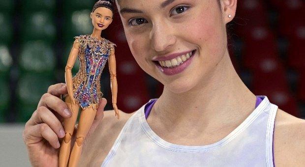 La ginnasta Milena Baldassarri diventa una Barbie. «Felice di essere un modello per le bambine»