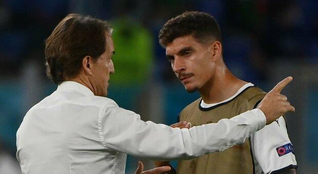 Euro 2020, Mancini ci ripensa: adesso Di Lorenzo è di nuovo davanti a Toloi