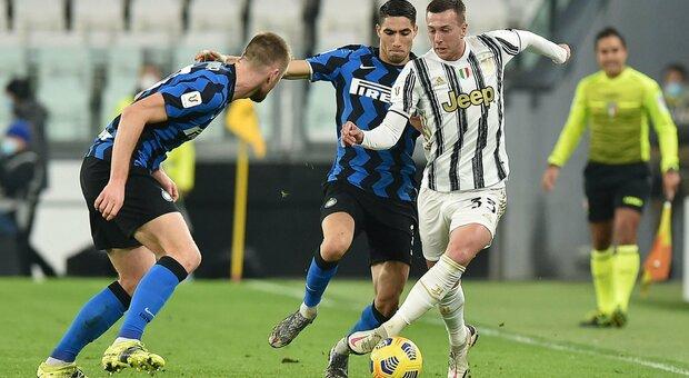 Juve-Inter dalle 20,45 diretta live: Pirlo con Kulusevski, Conte si gioca la carta Eriksen