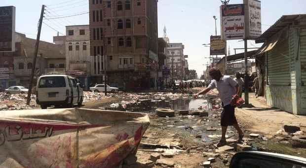 Hodeidah_danni al sistema fognario (Foto Oxfam)