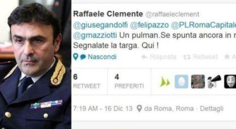 Roma, il comandante dei vigili: denunciate sosta vietata su Twitter