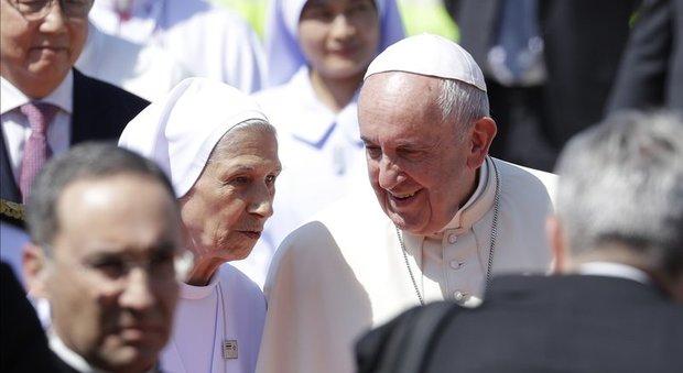 Il Papa con la cugina suor Ana Rosa Sivori
