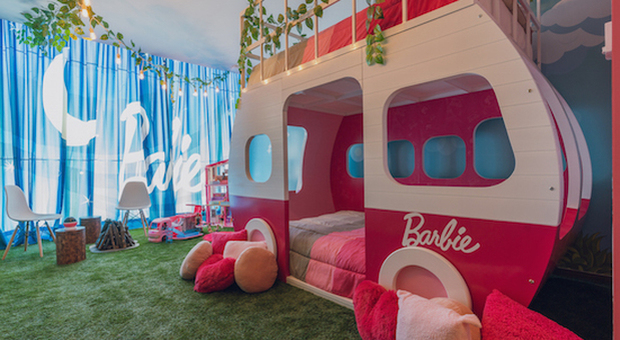 La suite di Barbie con il Dream Camper (© 2019 Hilton)