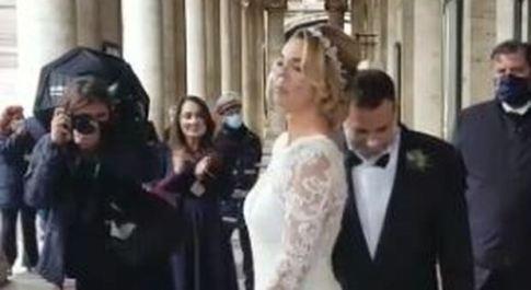 Fausto Brizzi si risposa, il regista in Campidoglio per una cerimonia per pochi intimi