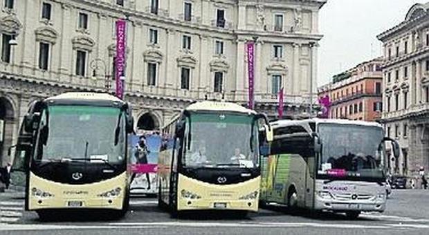 Roma: bus turistici, un microchip contro i furbetti della sosta