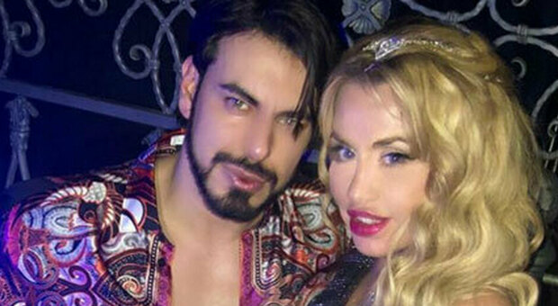 Valeria Marini e Gianluigi Martino (Instagram)