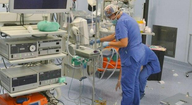 Un reparto dell'ospedale Santa Maria di Terni