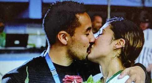 Proposta di matrimonio ai mondiali di hockey: Tania Alvarez dice sì a Luis