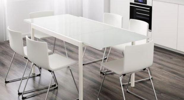 Ikea ritira il tavolo da pranzo Glivarp: «Un rischio per chi ...
