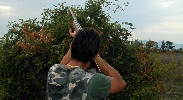 Cacciatore in una foto d'archivio