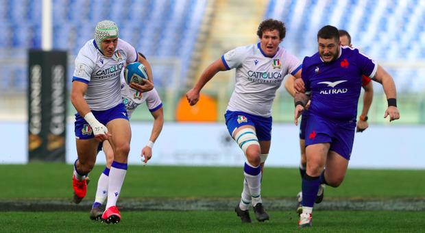 Rugby, Sei Nazioni, Italia cancellata dalla Francia all'Olimpico 10-50 Di Sperandio l'unica meta azzurra
