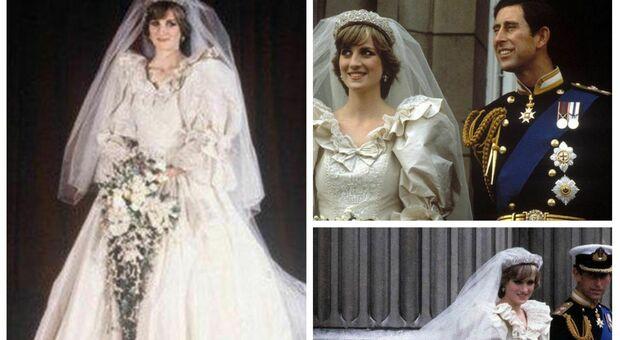 Lady Diana, il suo abito da sposa in mostra dopo 25 anni a Kensington Palace