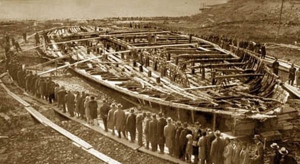 Nemi chiede i danni a Merkel per la distruzione delle navi di Caligola